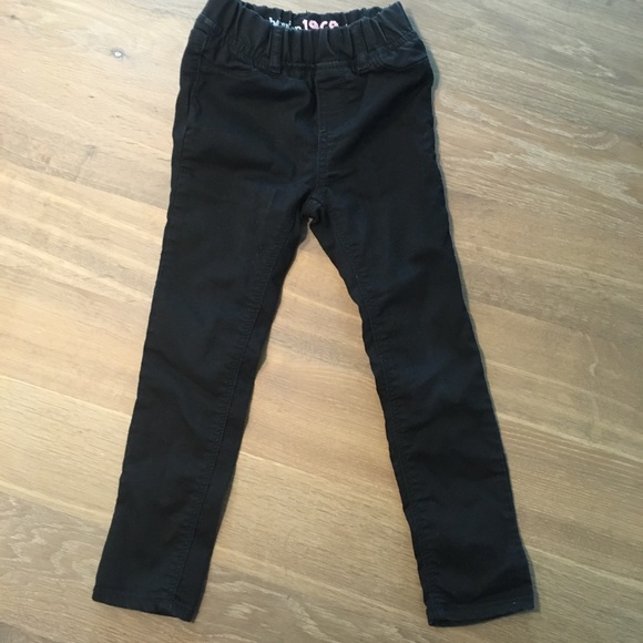 216cebc48 GAP Bottoms   Kids Black Pants Little Girls Size 4   Poshmark